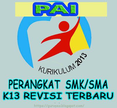 RPP SMA/SMK PAI & BP kelas 10  Kurikulum 2013 Revisi 2018