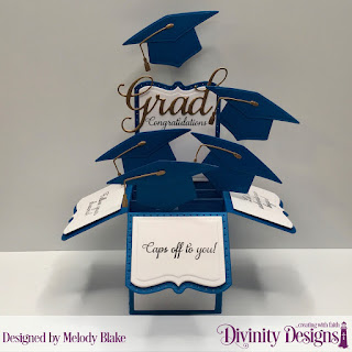 Divinity Designs Stamp Set: Dream Big, Custom Dies: Grad, Surprise Box