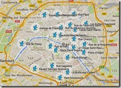 Carte Paname France3 avec Replay sur Google Maps