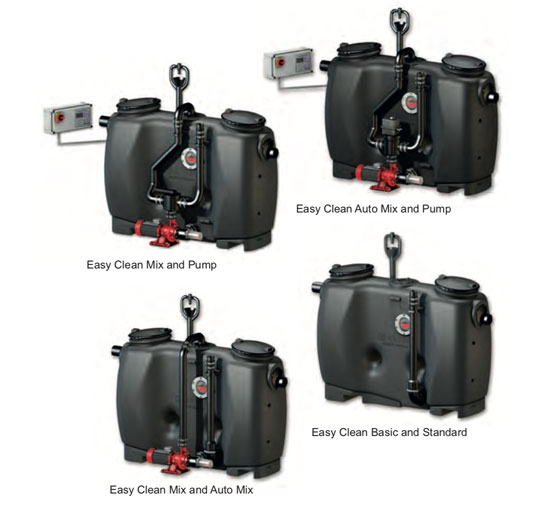 KESSEL Grease Separators - underground and overground