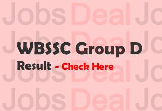 WBSSC Group D Result 2017