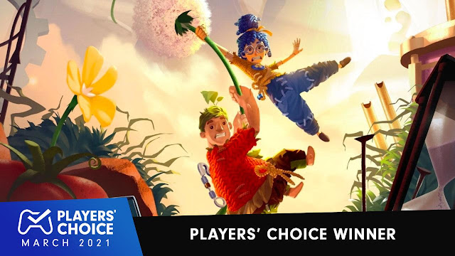 It Takes Two chosen as PlayStation Players Choice Winner of March 2021 | TechNeg