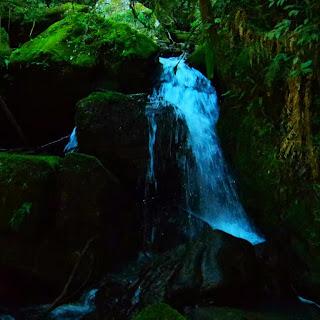 Close da Cachoeira do Teco, em Bom Retiro