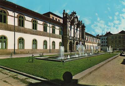 Lugo, postal, tarjeta, diputación
