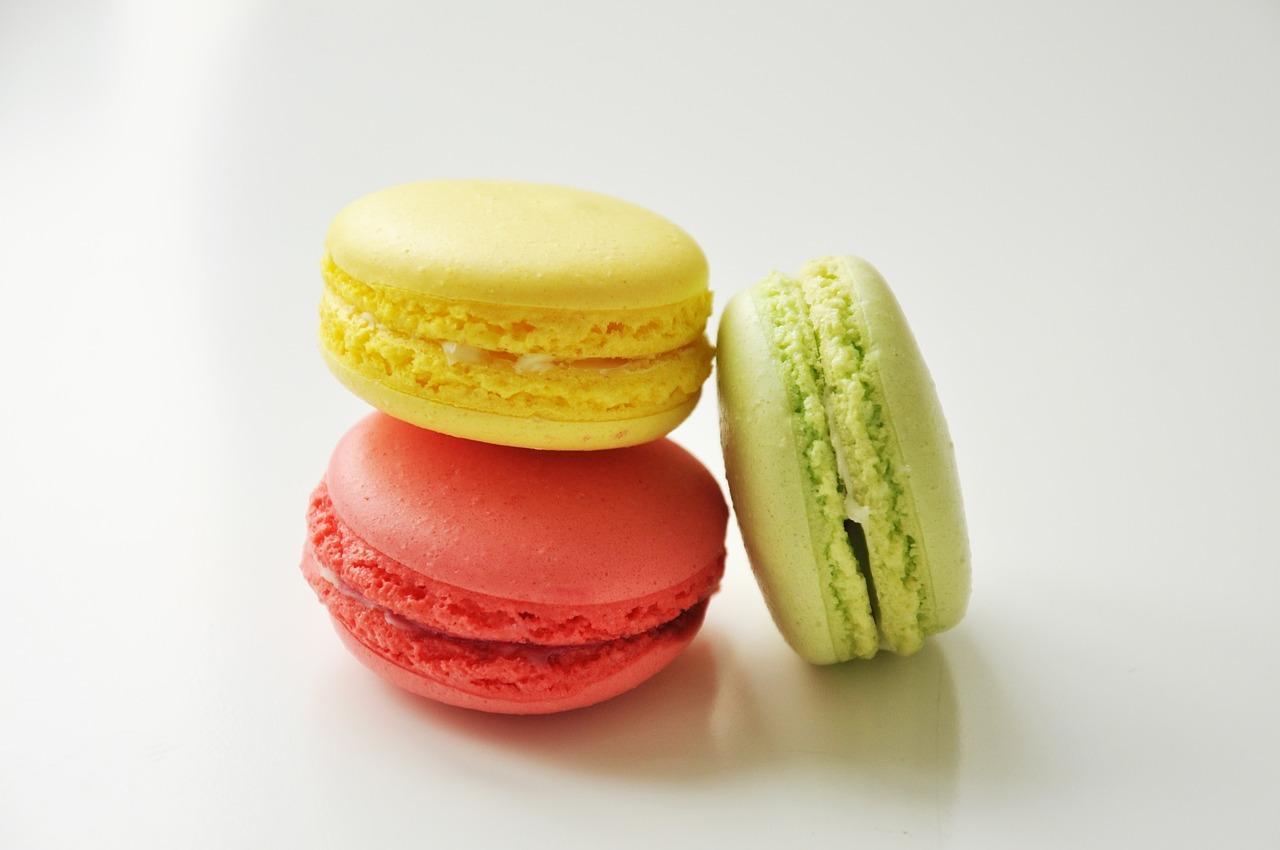 Receita de Macaroons Franceses - www.esperteza.com -- #receitas #macaroons #sobremesas