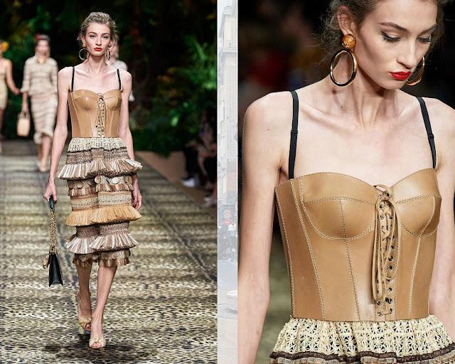 Dolce & Gabbana весна-лето 2020 Показ моды 6