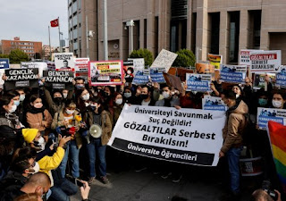The students' revolt: Turkey's culture war