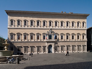 The Palazzo Farnese in Rome is currently the home of  the French embassy in Italy