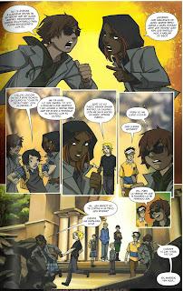 """Reseña de """"Academia Gotham: Segundo Semestre #1"""" de  Becky Cloonan y Brendan Fletcher - ECC Ediciones"""