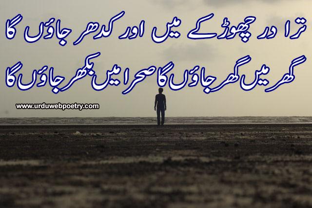 Ahmad Nadeem Qasmi Sad Poetry