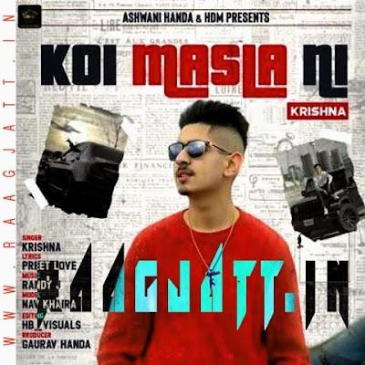 Koi Masla Ni by Krishna Handa lyrics