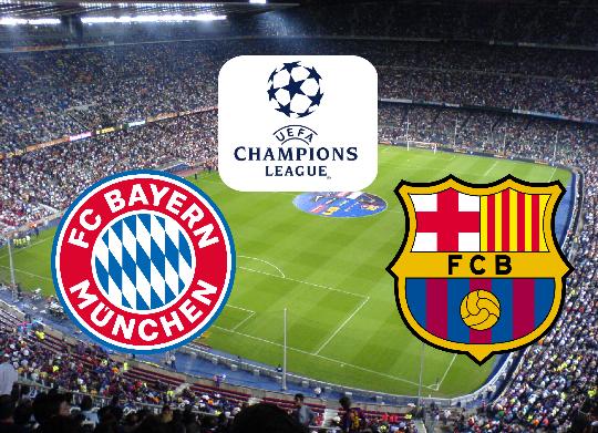 مشاهدة مباراة برشلونة و بايرن ميونخ .... قمة الجولة الأولى من دوري الأبطال