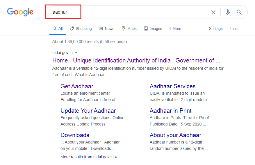 How to Download Aadhar Card in Marathi