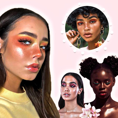 Glossy Skin 2020 trend