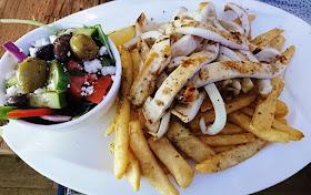 Kentro, Oakleigh, grilled calamari