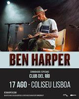 Concierto de Ben Harper y Club del Río en el Coliseu Lisboa