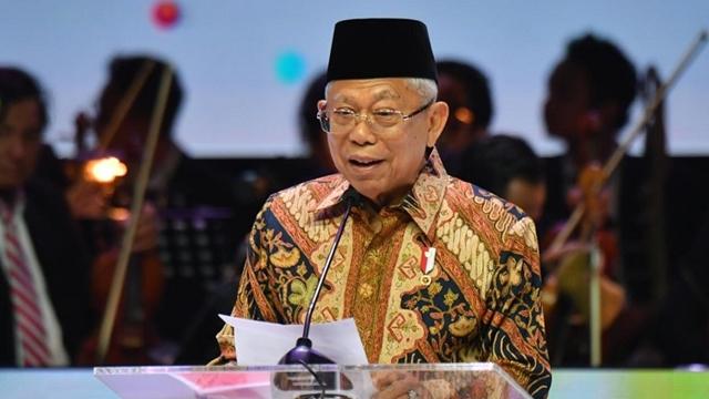 Ma'ruf Amin Ungkap Potensi Zakat Indonesia Capai Rp230 Triliun