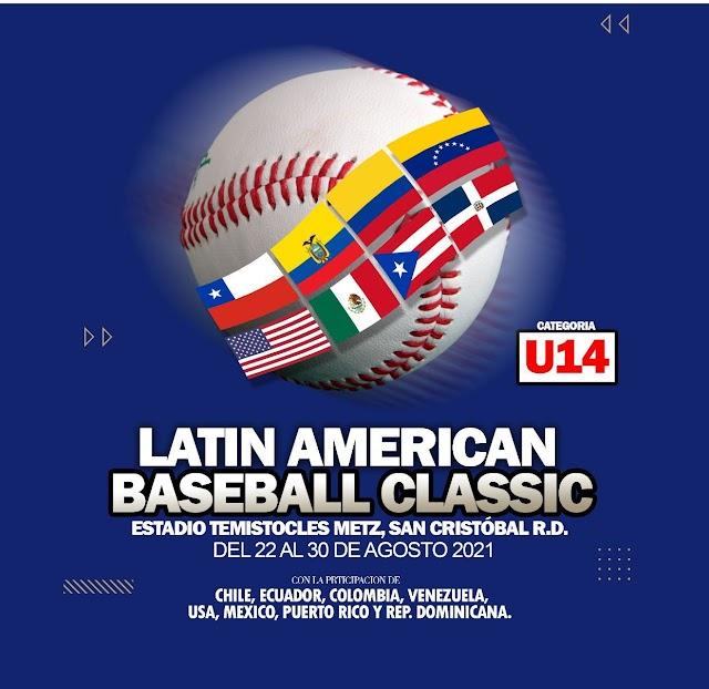 Todo listo para inicio del Torneo Latin American Baseball Classic U14 2021