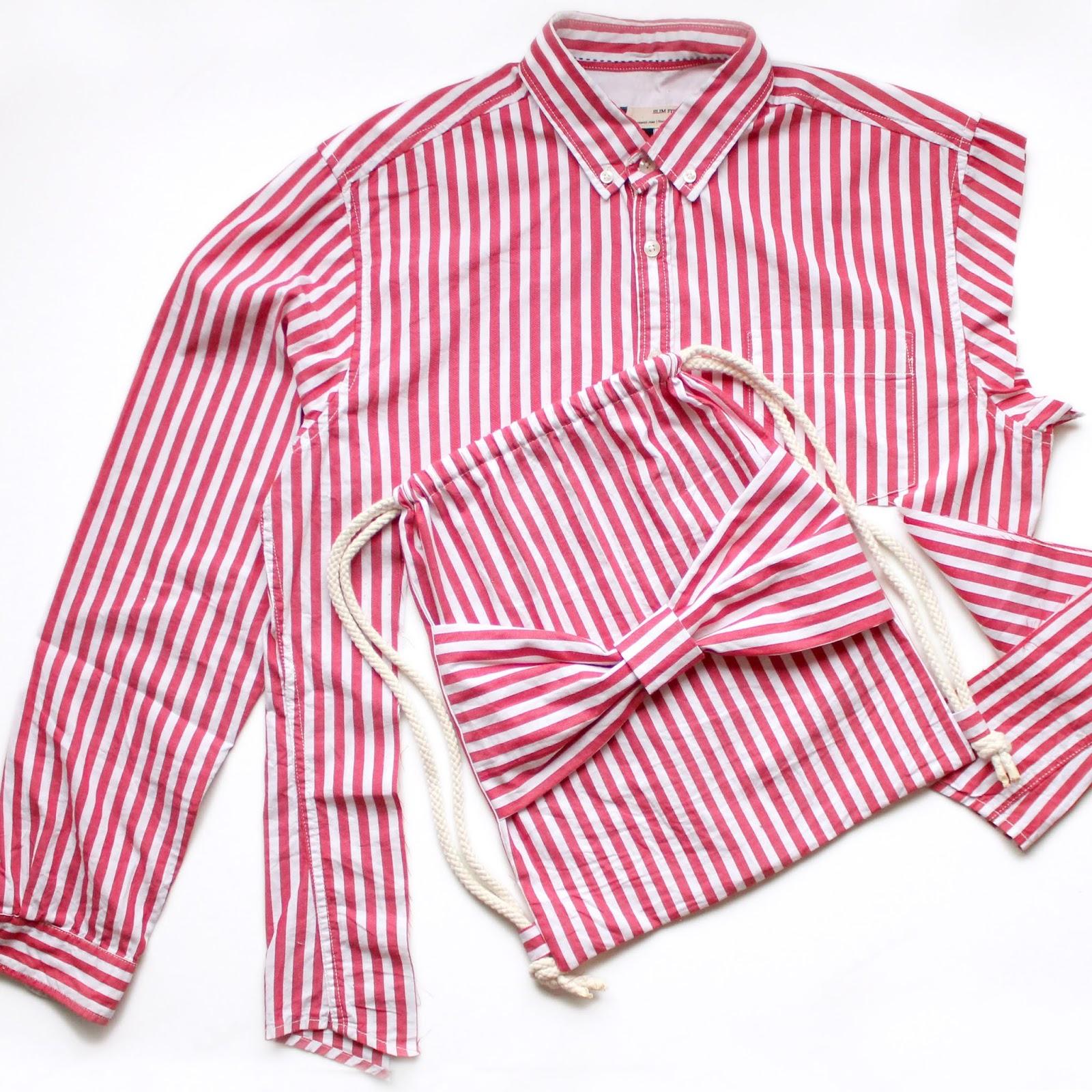 Gympapåse av en gammal skjorta