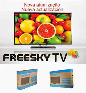 ATUALIZAÇÃO FREESKY TV V 2.28 - 27/08/2016