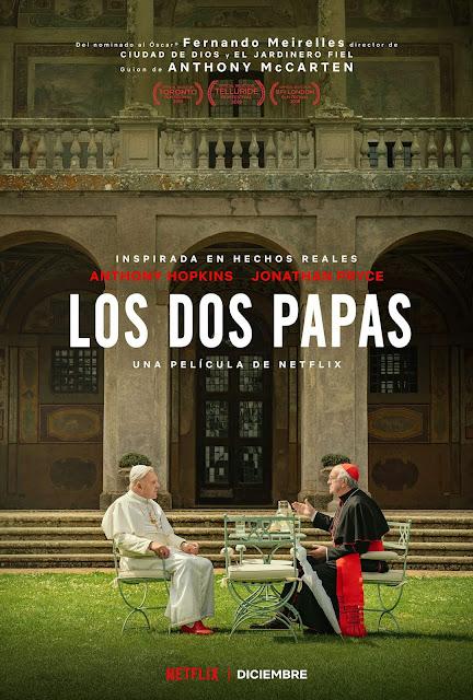 Póster de 'Los dos Papas' de Fernando Meirelles