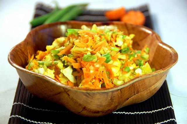 Resep Orak Arik Telur Campur Sayur