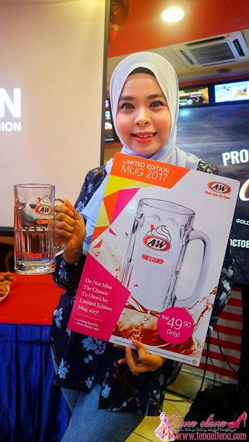 A&W Limited Edition Mug 2017 pada harga RM49.90