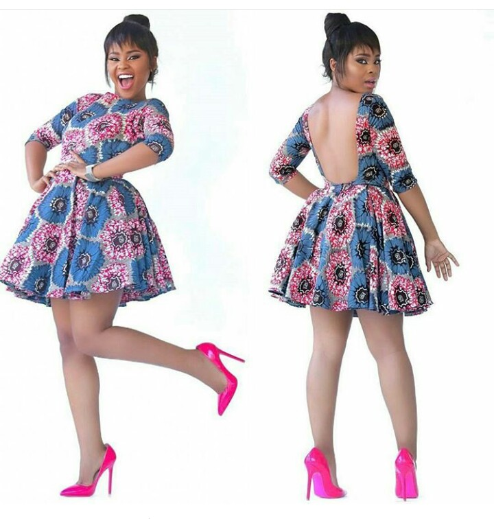 Wema Sepetu Zari Hamisa And Others In Kitenge Style
