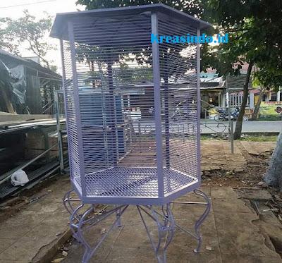 Jasa Pembuatan Kandang Burung Besi Kualitas Terbaik di Jabodetabek