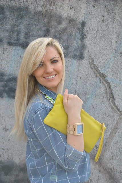 mariafelicia magno fashion blogger color block by felym fashion blogger italiane fashion blog italiani fashion blogger milano orologio in legno gufo design italian fashion blogger influencer italiane italian influencer