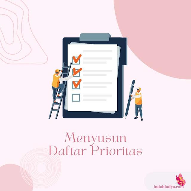 Menyusun Daftar Prioritas