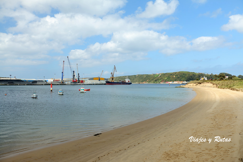 Playa de Zeluan. Avilés