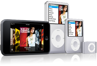 iPod Shuffle Vs. iPod Nano Vs. iPod 5G.4G Touch Vs. iPod Classic