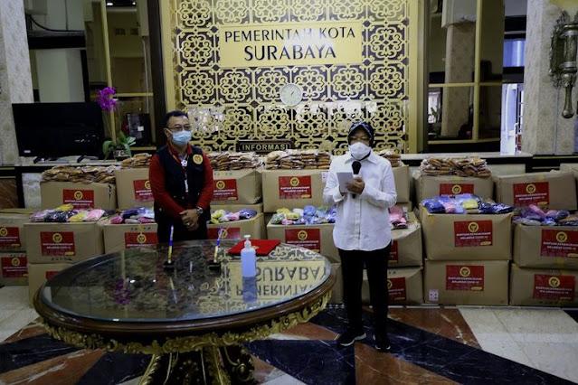 DPRD Bongkar Amburadul Penanganan Corona di Surabaya: Sembako Numpuk!