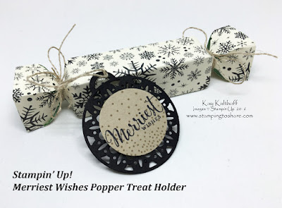 Popper Box created by Kay Kalthoff with Stamping to Share and Merriest Wishes Bundle