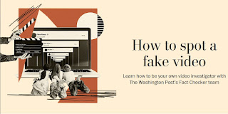 "Washington Post: ""How to spot a fake video"""