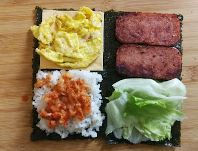 Koreanisches Kimbap Sandwich