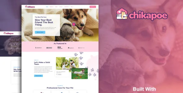 Best Pet Care & Veterinary Elementor Template Kit