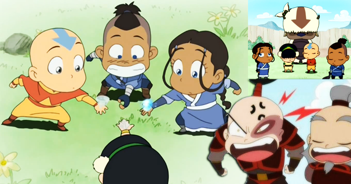 Avatar Super Deformed Shorts