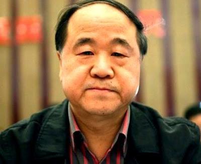 Foto al rostro de Mo Yan