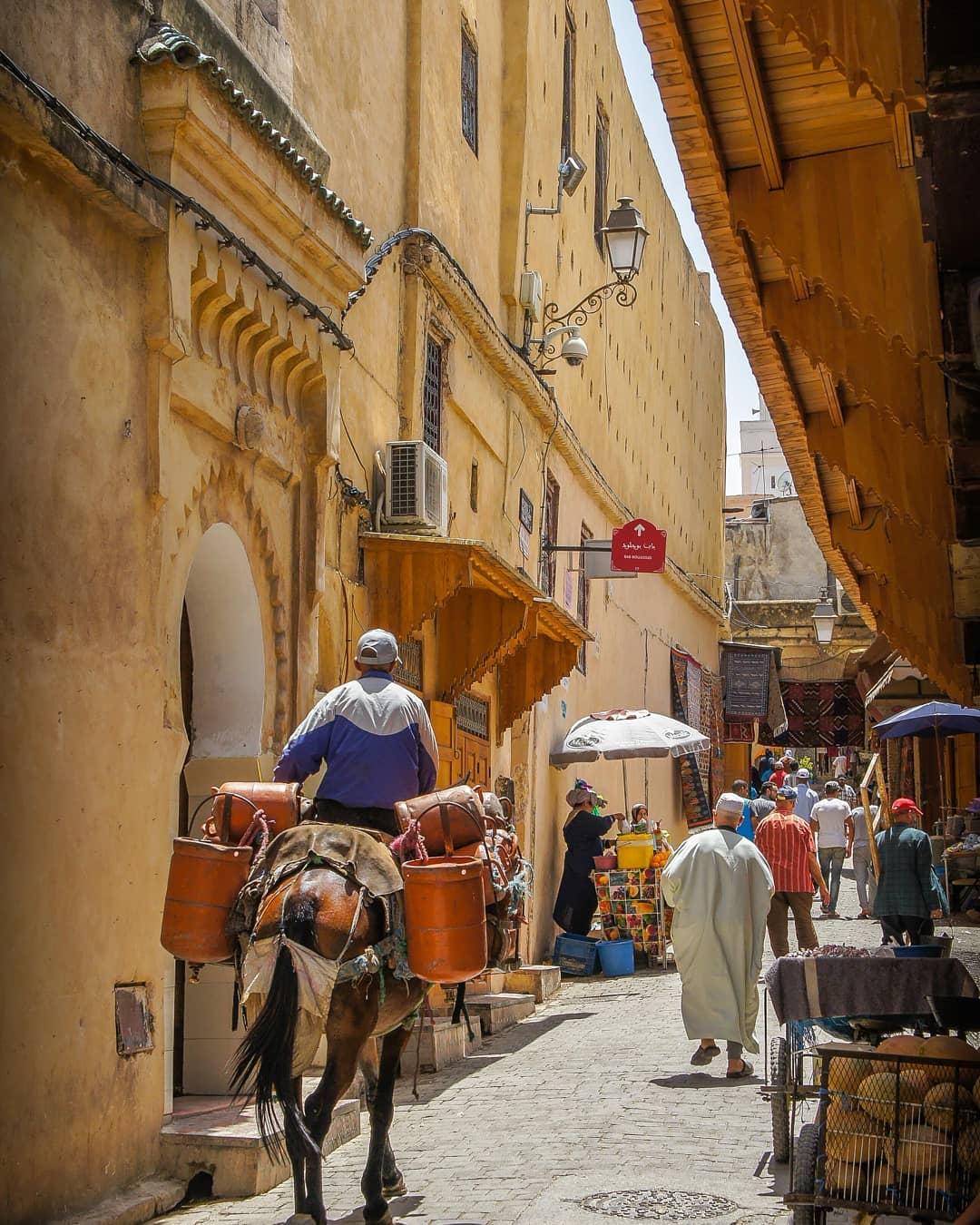 Liburan ke Fes City Cassablanca Marocco