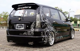 modifikasi body avanza modifikasi avanza ceper abis