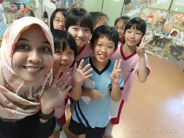 Students at Da-feng School