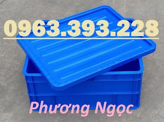 Thùng nhựa đặc B8 có nắp, hộp nhựa B8, khay nhựa đựng đồ 0898009727f5ddab84e4