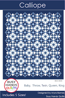 Calliope Quilt Pattern by Myra Barnes of Busy Hands Quilts