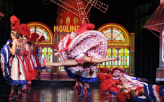 Show no Moulin Rouge em Paris