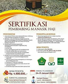 Sertifikasi Pembimbing Manasik Haji