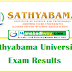 Sathyabama University Results 2019 - 2020 Exam Results