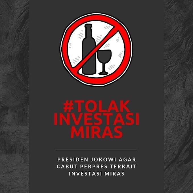 Tolak Investasi Industri Perusak Akal Sehat!