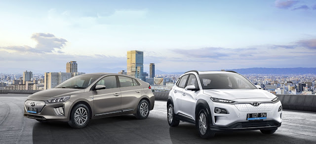 Hyundai IONIQ & KONA Electric